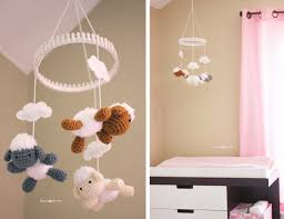 Changing Table Mobile Baby Nursery Diy Decorating Ideas Repeat Crafter Me Crochet