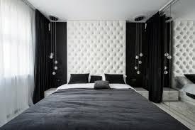 chambre noir et blanc design architecture appartement design decoration moderne appartement