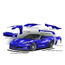 corvette zr6x corvette zr6x widebody kit 2005 2013 c6 coupe