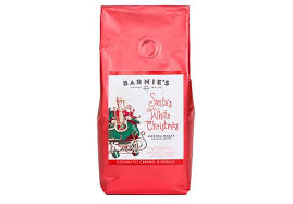 barnie s coffee santa s white 10oz ground seasonal