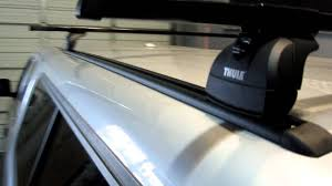 Roof Rack For Tacoma Double Cab by Truck Cap Camper Shell Topper With Thule Podium Base Roof Rack On