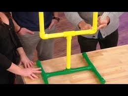 Backyard Football Goal Post How To Make Your Own Football Party Goal Post Youtube