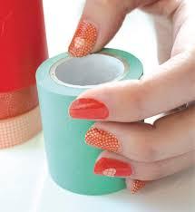 patriotic washi tape nail art workman publishing