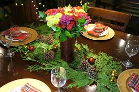 christmas dinner table centerpieces simple home diy christmas dinner table decoration ideas