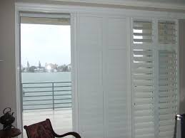 Sliding Patio Door Reviews by Rolling Shutters For Glass Sliding Doors Plantation Shutters For