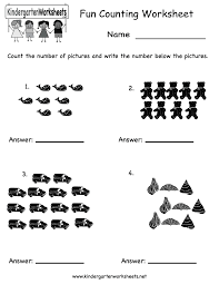 Worksheets For Kindergarten Printable 7 Best Images Of Printable Counting Worksheets For Kindergarten