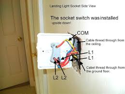 loop at the switch 2 way lighting wiring diagram youtube amazing