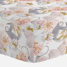 gold crib sheets fitted sheet for cribs carousel designs
