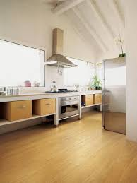 Kitchen Laminate Floor Amazing Home Kitchen Interior Design Ideas Show Best Wood Flooring