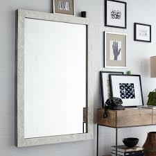 large wall mirrors for living room parsons large wall mirror bone inlay west elm