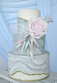 grey marble and gold wedding cake cake couture ni