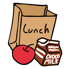 lunch tray colouring pages picture cliparts and others art