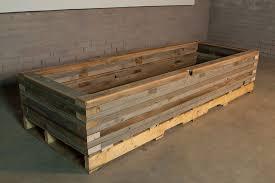 reclaimed raised garden bed planter 5 custom by rushton llc