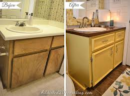 Bathroom Makeover Pictures Before And After - 20 day small bathroom makeover u2013 before and after