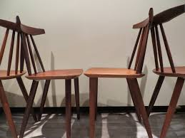 set of 4 danish chairs in teak by poul volther for frem rojle