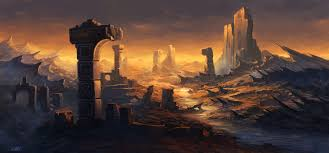 image gallery of fantasy desert landscape