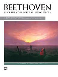 beethoven 13 most popular pieces alfred masterwork edition