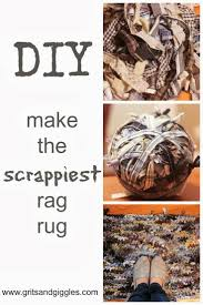 Tied Rag Rug 141 Best Rag Rug Ideas And Tutorials Images On Pinterest Diy