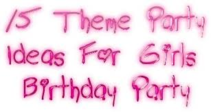 themes for kitty parties in india 15 theme party ideas for girl s birthday party ladies kitty