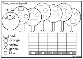 kindergarten graph worksheets worksheets