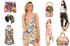 Seafolly Summer Garden - floral prints spring up on the runways red typewriter