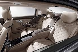mercedes s class rear seats 2016 mercedes maybach s600 look motor trend