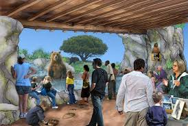 california trail exhibit at oakland zoo moves forward theme park
