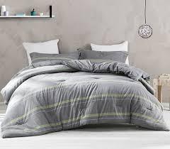 Room Essentials Comforter Set Gray Striped Comforter Twin Xl Dorm Bedding Dorm Room Essentials