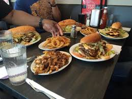 monter cuisine burger feast picture of top drive inn restaurant