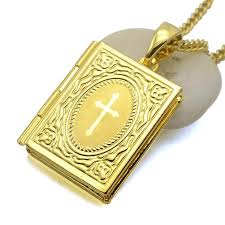 bible necklace bible box pendant necklace better with faith