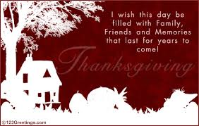 thanksgiving wish free family ecards greeting cards 123 greetings
