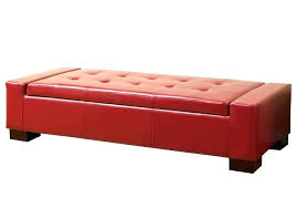ottoman medium size of storage ottoman with tray cube red