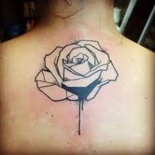 tattoo geometric outline gallery for geometric rose tattoo tattoos and piercings