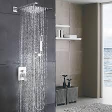 bathtub u0026 shower systems amazon com kitchen u0026 bath fixtures