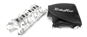 mustang intake manifold trick flow mustang track heat intake manifold black 86 95 5 0