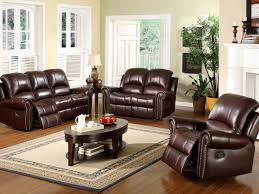 Flexsteel Reclining Loveseat Furniture Leather Double Recliner Sofa Recliner Loveseat