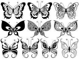 beautiful decorative butterflies vector design 04 vector