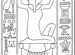 coloring pages of egypt flag egypt coloring page and the burning bush coloring pages photo