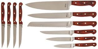 ontario kitchen knives ontario knives 8794 king cutlery kitchen knife set 10 pieces