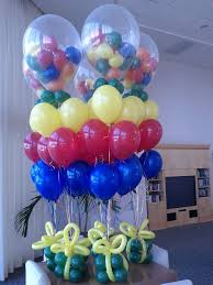 balloons gift 24 best balloon centerpieces images on balloon