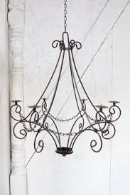 Real Candle Chandelier Lighting Wrought Iron Cassie Chandelier Candle Lighting Candelabra New