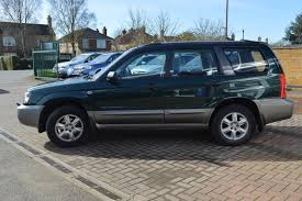blue subaru forester 2003 used 2003 subaru forester x all weather for sale in cambridgeshire