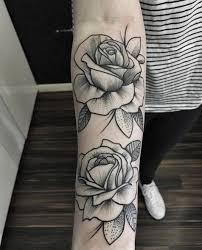 25 trending rose tattoo on forearm ideas on pinterest rose