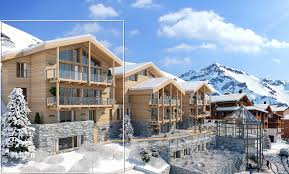 chalet koh i nor val thorens luxury new build chalet for sale