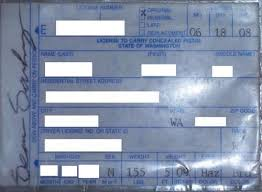 washington concealed carry permit information