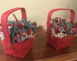 Country Baskets Red Basket