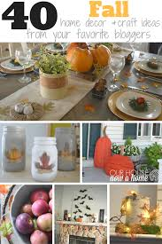 Home Decor Crafts Ideas 40 Fall Home Decor And Craft Ideas U2022 Our House Now A Home