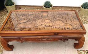 hand carved coffee table hand carved coffee table janellealex com