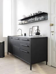 Metal Kitchen Shelves by