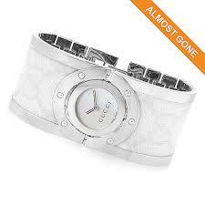 bangle bracelet watches images Gucci women 39 s twirl swiss made quartz sapphire crystal bangle